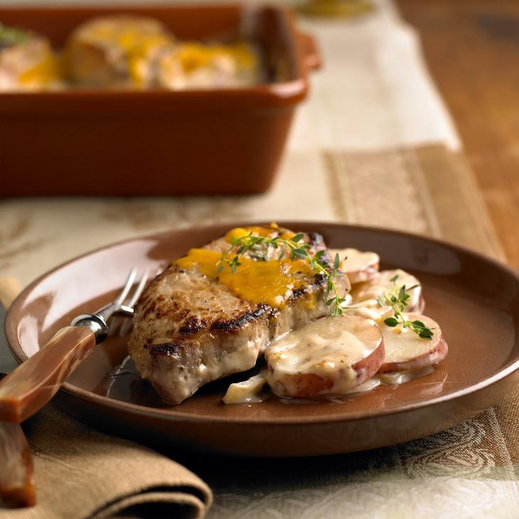 Sunday Pork & Potatoes Recipe