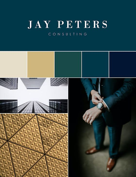Peters Brand Inspiration - Brand Board Template