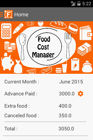 Food Cost Manager