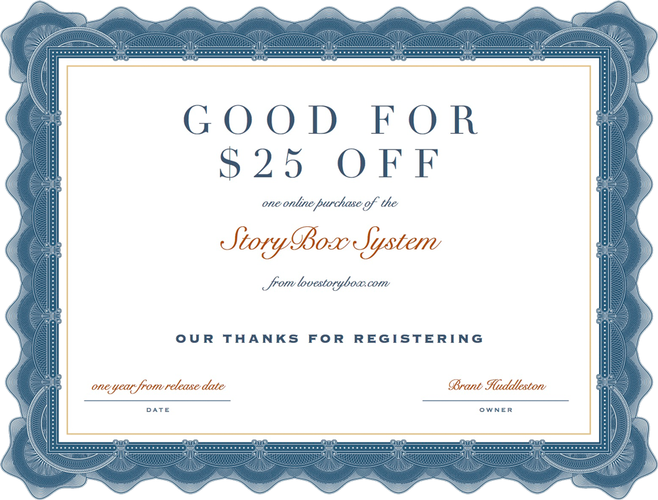 StoryBox Coupon