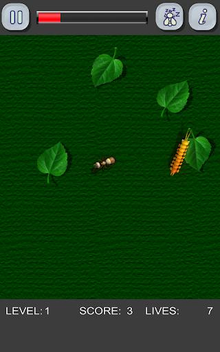 恐ろしい昆虫をスマッシュ!クラッシュ蟻は ムカデを飛びます。