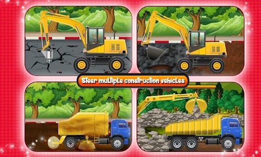 Road Construction Site Builder- screenshot thumbnail