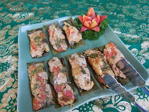 Photo: Pepesan Be Pasih (steamed fish in banana leaves)  https://docs.google.com/file/d/0B1bus_HlRM7rQ0FzemhvWERHUk0/edit