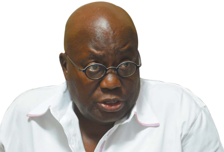 Nana Akufo-Addo. Picture: FINANCIAL MAIL
