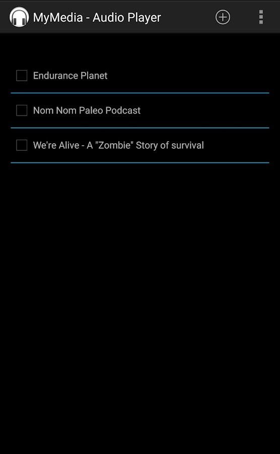 Audio Book Podcast Player- screenshot