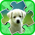 Puppy Jigsaw Puzzle Kids icon