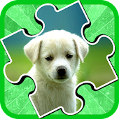 Puppy Jigsaw Puzzle Kids