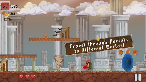 Spartap - Pixel Endless Runner apkmind screenshots 4