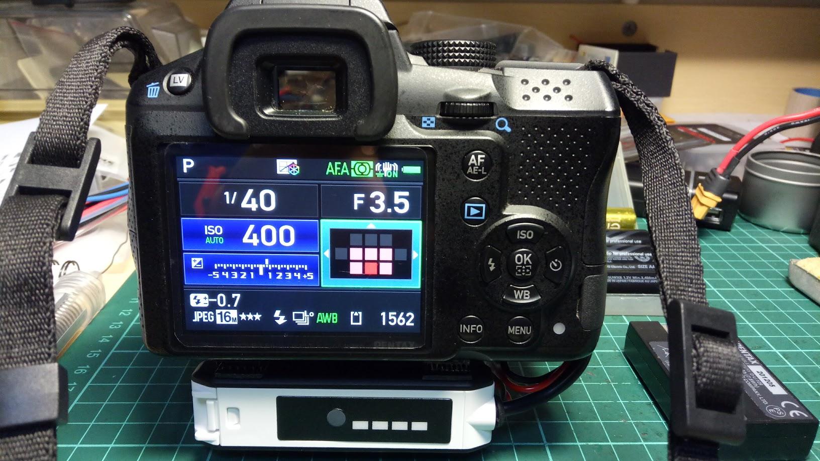 K30自製外掛18650電池盒(電池手把?)