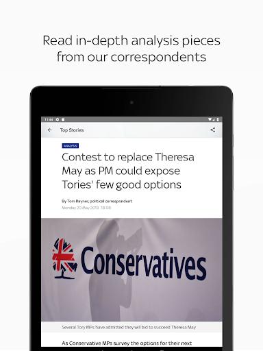 Sky News: Breaking, UK, & World screenshot 13