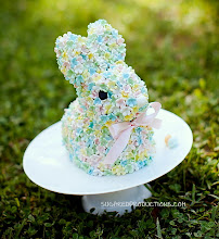 Photo: Blossom Bunny Cake by SugarEd Productions (3/31/2012) View cake details here: http://cakesdecor.com/cakes/10665