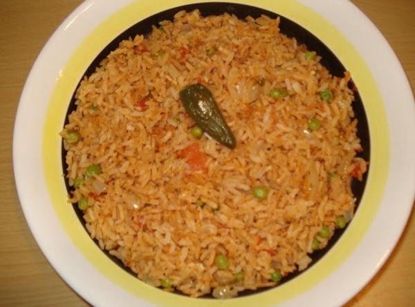 Mexican Rice/ Arroz Mexicano Recipe