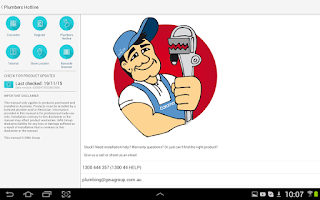 Screenshot of Plumbers Handbook