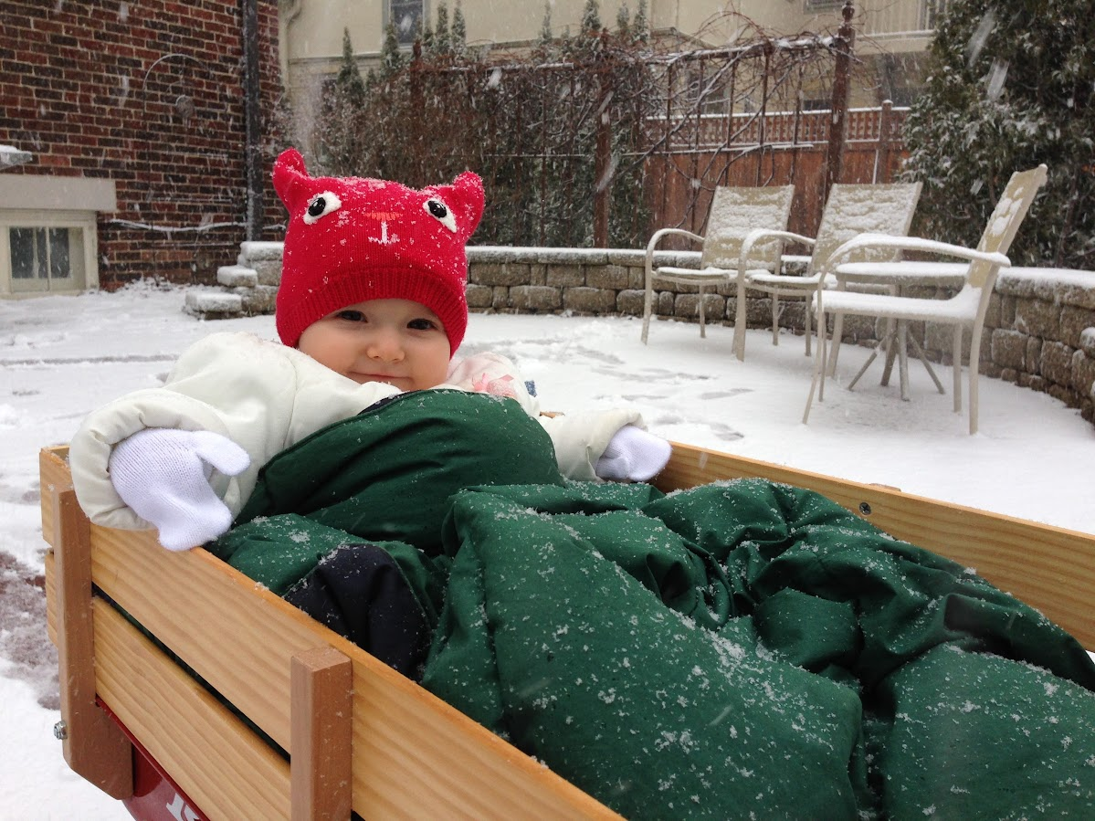 1st time in the snow