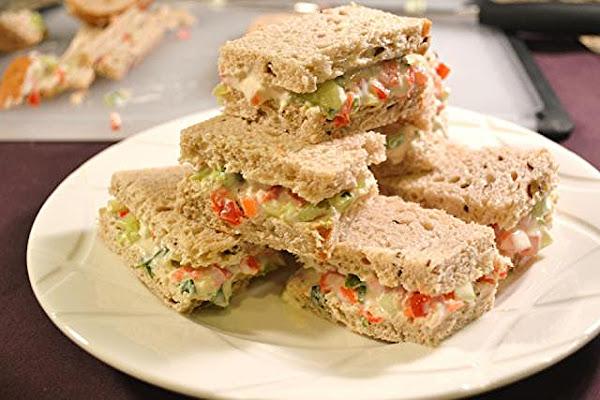 Vegetable Tea Sandwiches Recipe