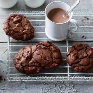 Triple Chocolate Buckwheat Cookies.