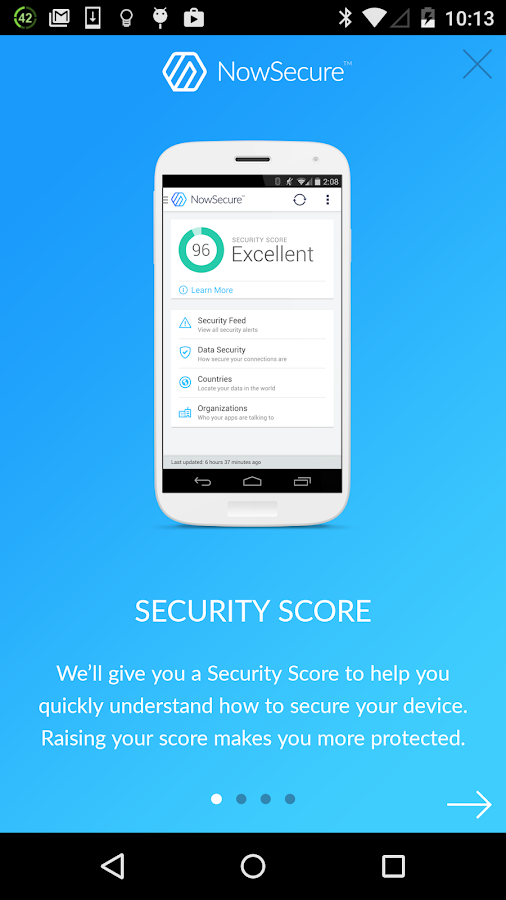 Mobile Security | NowSecure- screenshot