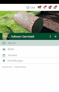 Rollrasen Darmstadt- screenshot thumbnail