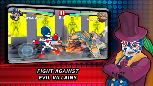 Superheroes Fighting Games Shadow Battle apkpoly screenshots 6