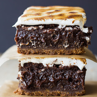 Decadent S'mores Brownies.