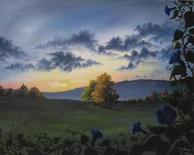 Photo: Morning Glory - 20x16 Acrylic on Canvas