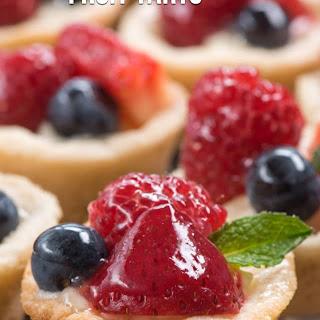 Mini Fruit Tarts.