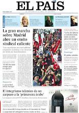 Photo: La gran marcha sobre Madrid abre un otoño sindical caliente, la Diada 2012 da paso a otra era en el encaje de Cataluña en el Estado, el integrismo islámico da un zarpazo a la 'primavera árabe' y la austeridad asfixia Portugal, entre los titulares de nuestra portada del 16 de septiembre de 2012. http://srv00.epimg.net/pdf/elpais/1aPagina/2012/09/ep-20120916.pdf