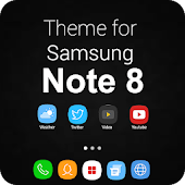 Note 8 Launcher 2018-Galaxy Note 8 Launcher Theme