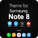 Note 8 Launcher 2018-Galaxy Note 8 Launcher Theme (app)