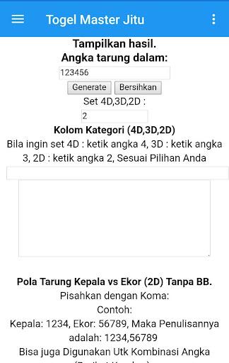 Togel Master Jitu-Prediksi Akurat 1.15 screenshots 9