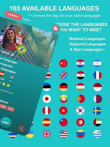 Match - Languages - Meetings - Friends: Leeve 3.4.0 screenshots 8