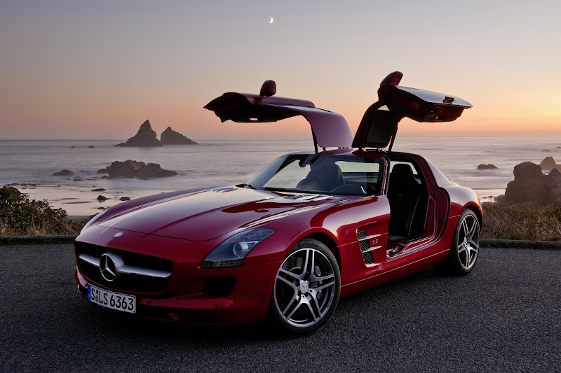 Photo: Then in 2010, the production gullwing came back in full force, and we do mean full force, with the SLS AMG.
