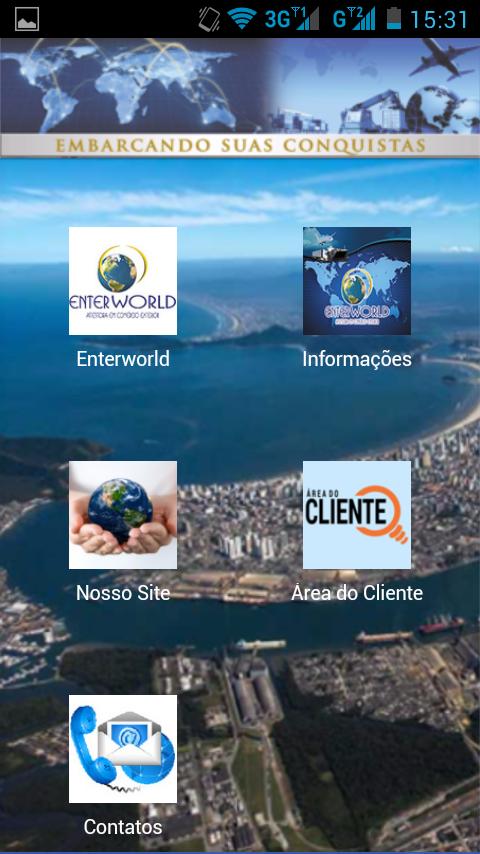 Screenshots of Enterworld Ass. Com. Exterior for iPhone