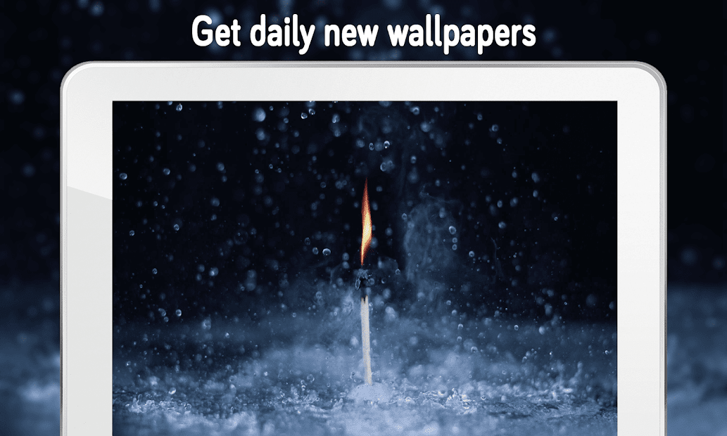 ... Rain Wallpaper (4k) Android App Screenshot