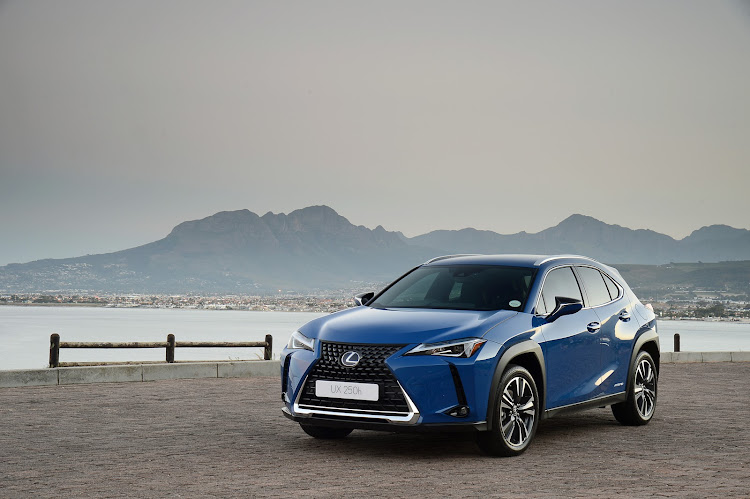 The handsome new Lexus UX 250h