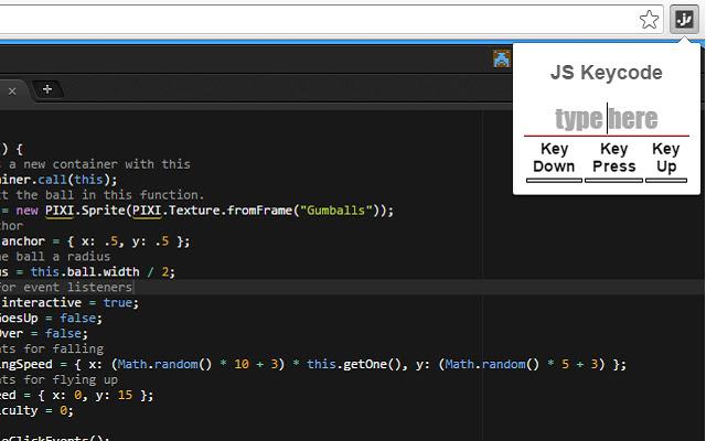 JS Keycodes