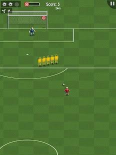 Soccer - top scorer 2 Ekran Görüntüsü