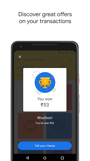 Google Pay (Tez) - a simple and secure payment app screenshot 3