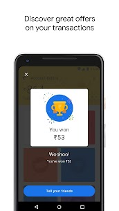 Google Pay (Tez) – a simple and secure payment app Mod 69.0.001 Apk [Unlocked] 3