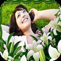 Flower Photo Frames Maker icon