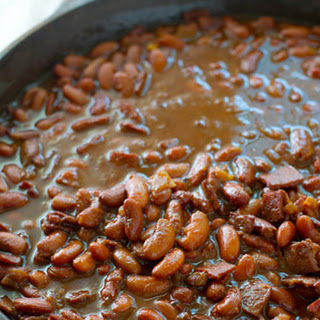 Ultimate Crockpot BBQ Baked Beans.