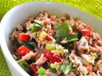Jodie's Tuna Pico De Gallo Salad Recipe