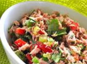 Jodie's Tuna Pico De Gallo Salad Recipe