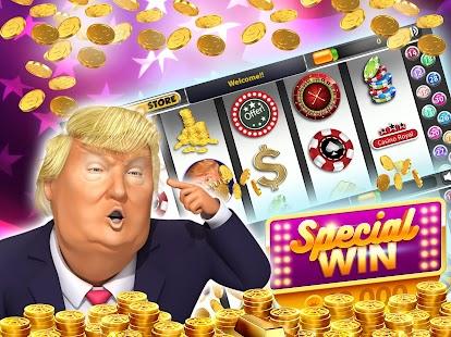 Trump Slots Machines screenshot