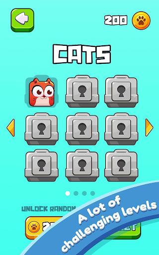 Cat Jumping: Kitten Up, Square Cat Run, Kitten Run 1.2.37 screenshots 4