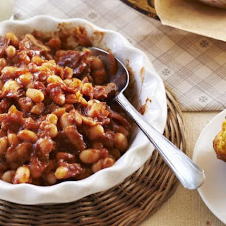 Beefy Barbecue Baked Beans