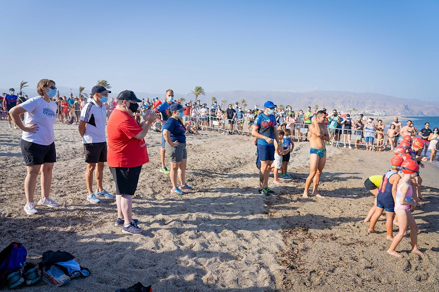 Jornadas de Promoción del Triatlón en Roquetas de Mar.