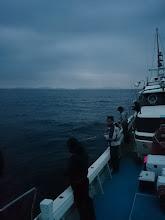 Photo: まだちょっと暗いですがハリキッて ジギングスタート!