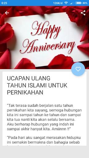 Ucapan Anniversary Pernikahan Islami Nusagates
