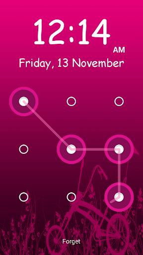 無料工具Appのピンクのパターン画面ロック|記事Game